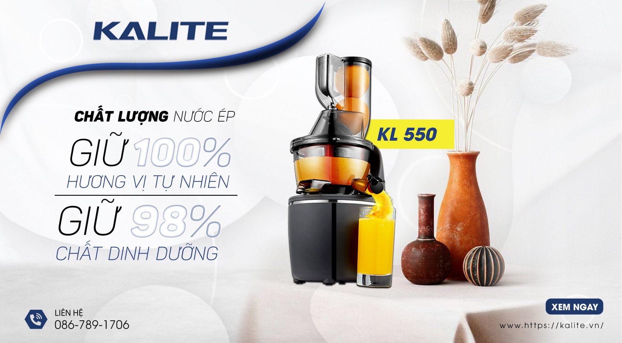 Máy ép chậm Kalite KL-550