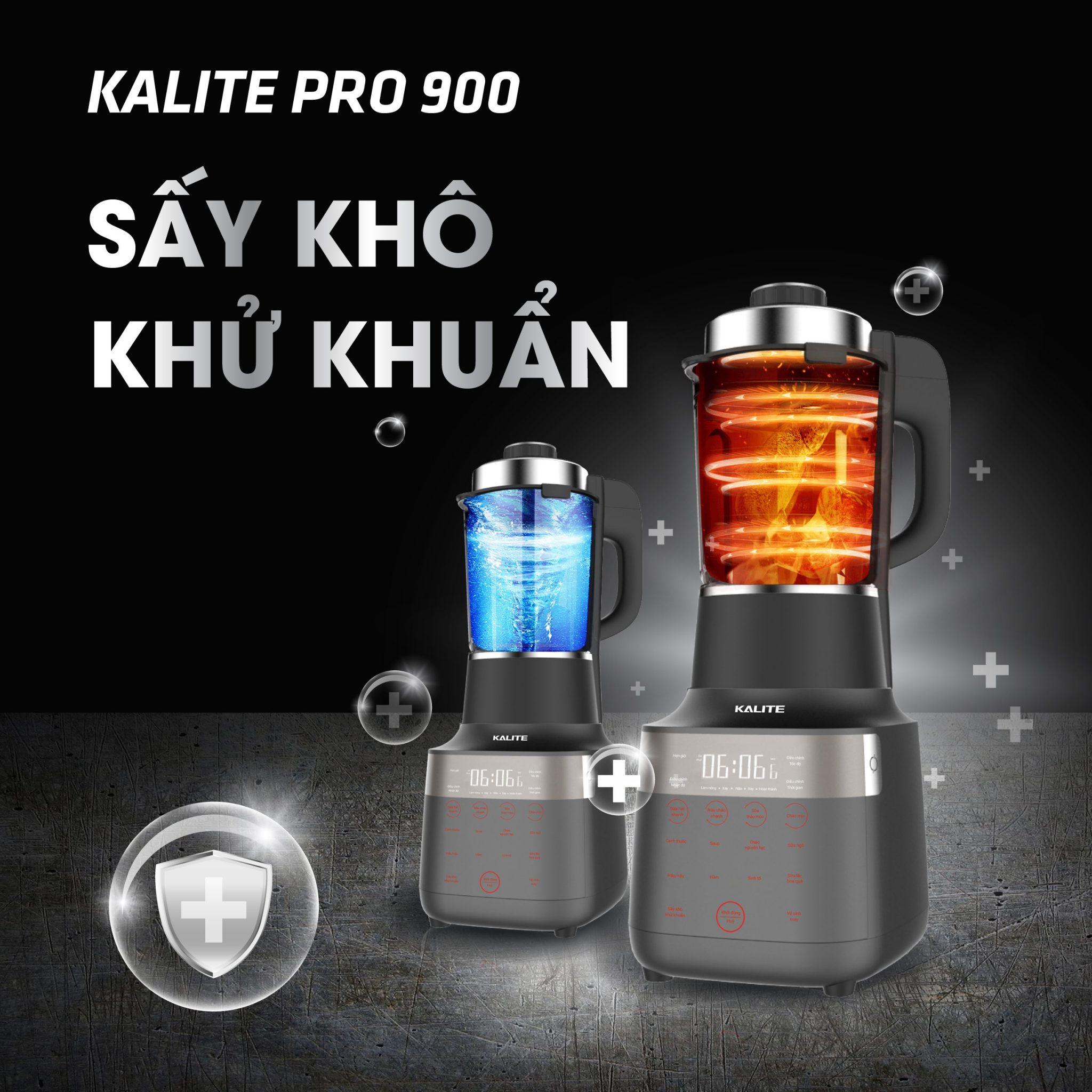 Máy làm sữa hạt KALITE PRO-900 1.75L