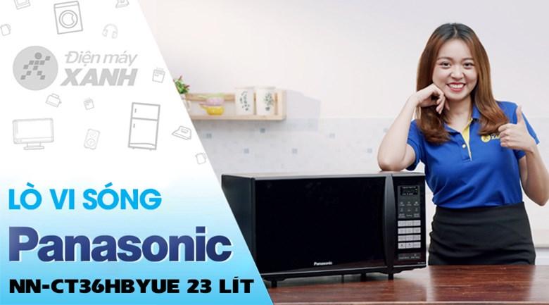 Lò vi sóng Panasonic NN-CT36HBYUE 23L